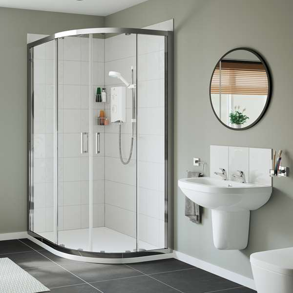 Contemporary vs. traditional bathroom design by Mira Showers by ...