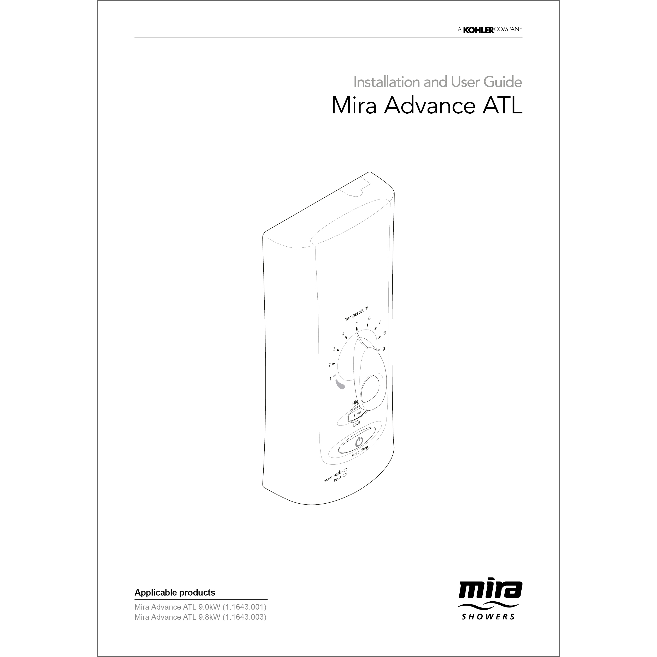 Wiring Electric Shower Diagram Mira Advance Experience Of Installation And User Guide By Showers Rh Mirashowers Co Uk Hps Ballast Electrical