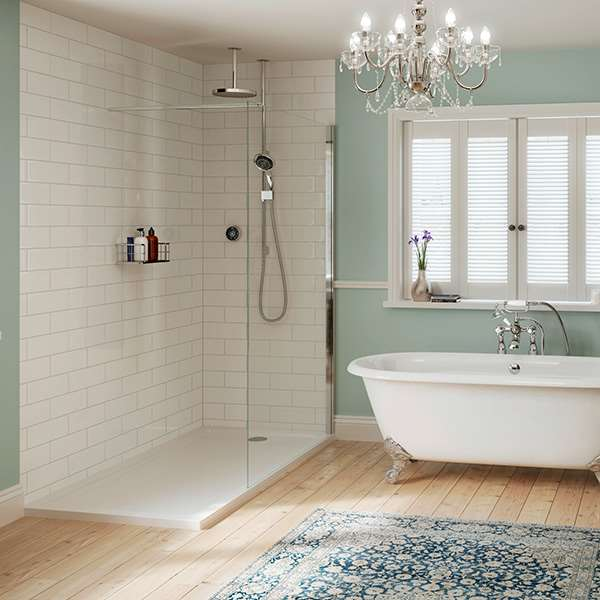 terrific shabby chic bathroom ideas | Create a shabby chic bathroom by Mira Showers by Mira Showers