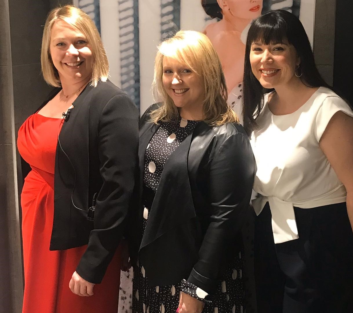 Katy Rogers (Business Director), Sarah Sadler (Finance Director) and Emma Foster (Marketing Director) - three members of our Executive Team.